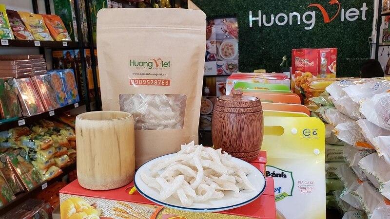 Mứt dừa non Hương Việt